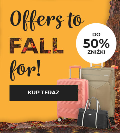 Offers to FALL for - Do 50% zniżki - KUP TERAZ - American Tourister